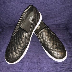 Black Slip On Shoes / Loafers